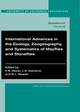 International Advances in the Ecology, Zoogeography, and Systematics of Mayflies and Stoneflies$
