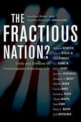 The Fractious Nation?Unity and Division in Contemporary American Life